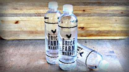 Brick Farm Market, Bottled Water